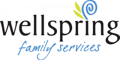 Full Color Wellspring Family Services Logo 5 inches